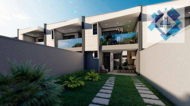 Casa com 4 dormitórios à venda, 137 m² por R$ 440.000,00 - Centro - Eusébio/CE