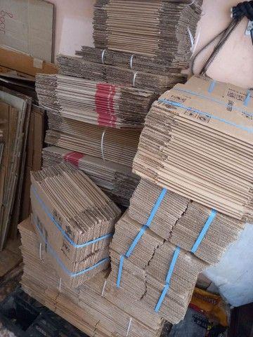 Caixas papelão