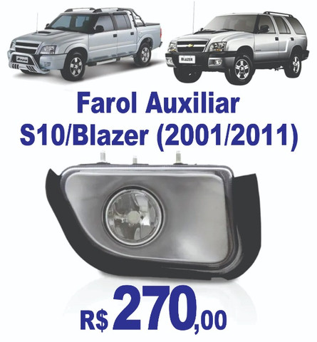 FarolL Auxiliar S-10 / Blazer