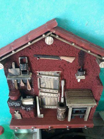 Porta chave em madeira. - Foto 5