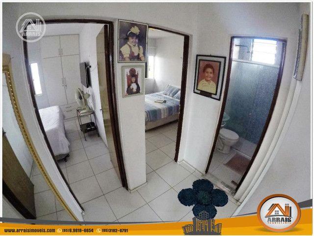 Apartamento à venda, 106 m² por R$ 200.000,00 - Vila União - Fortaleza/CE - Foto 6