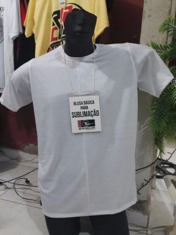 Camiseta para Sublimação em poliester e silk em algodão