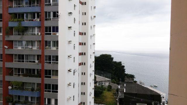Apartamento 1 quarto, vista mar, Campo Grande, Salvador, Bahia