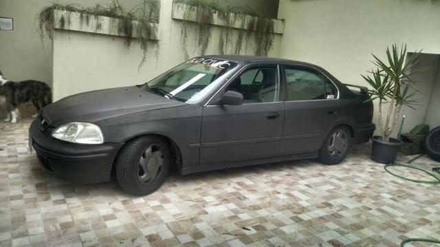 Awesome Honda Civic Ex Aut. 98 Completo + Couro