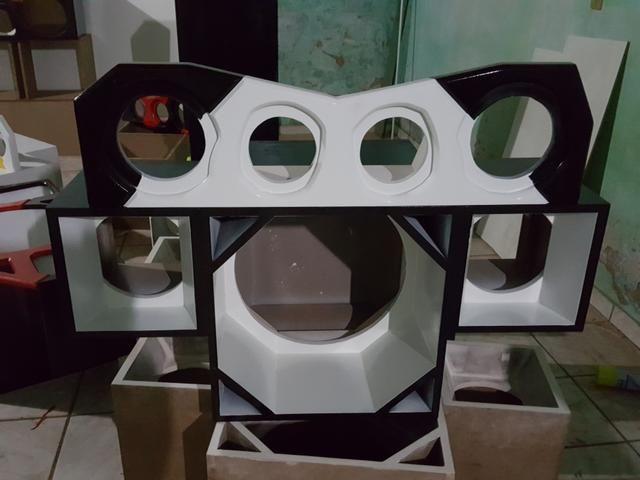 caixa trio