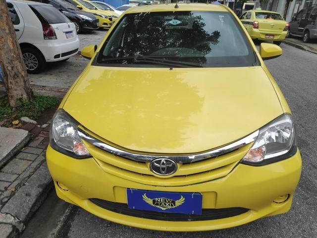 Ex Táxi - Etios Sedan Xs 1.5 2014 Aprovação Imediata - Foto 2