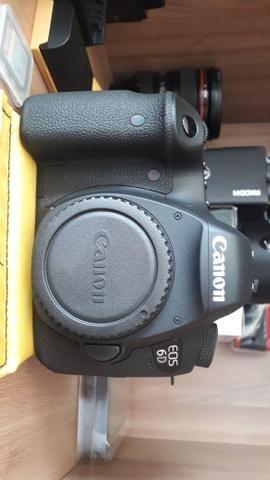 Camera canon 6D + Lente 24-105
