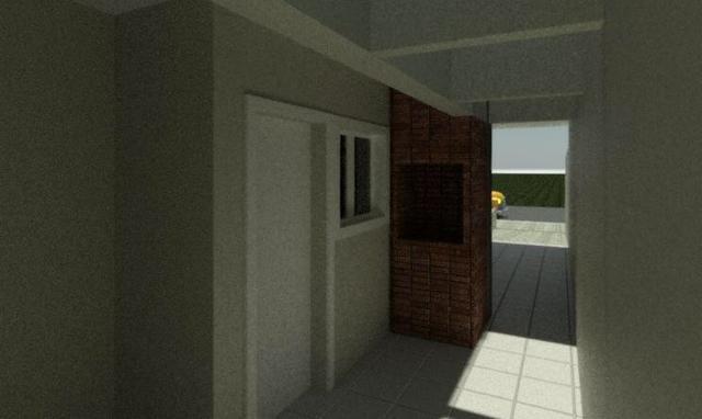 Casas 3 dormitórios, piscina e churrasqueira - Foto 4