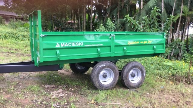 Carreta 5 Ton,sub-solador, plaina manual