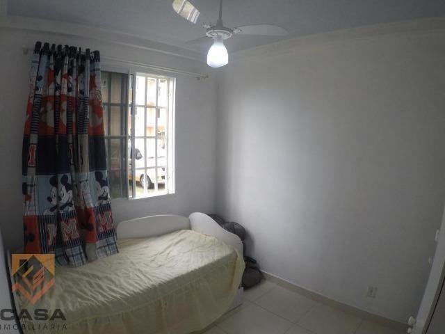 FM - Excelente apartamento 2 quartos térreo com fechamento de varanda - Praia da Baleia - Foto 7