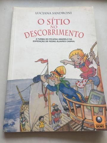 """Livro Paradidático """"O sítio no descobrimento """""""