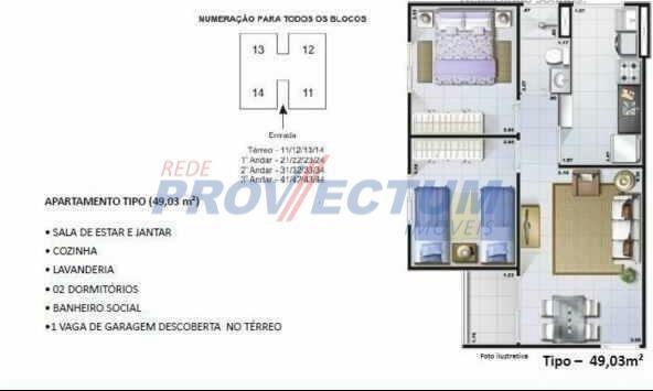 Apartamento à venda com 2 dormitórios cod:AP273907 - Foto 19