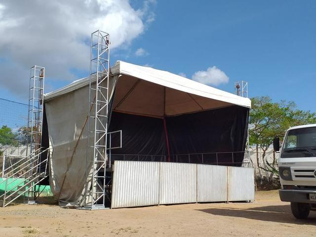 Palco/Estrutura completa (Carlinhos tendas)