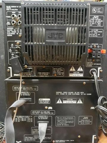 Micro System jvc MX-S4 com Caixas - Foto 5