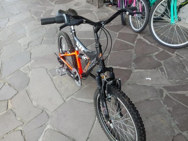 Bicicleta aro 20 com Suspensão ( Produto Semi Novo ) - Foto 2