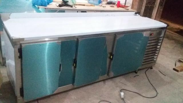 Balção Refrigerado Ar Forçado 100% Inox - Foto 2