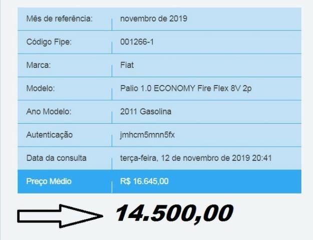 Fiat Palio Fire Economy 2011 flex - Foto 6