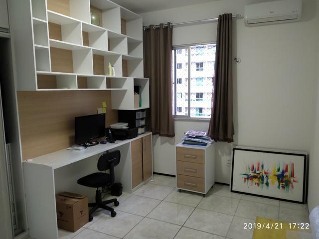 Venda direta - Apartamento no Cocó quitado, móveis projetados no Cocó