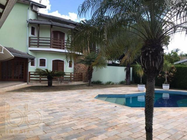 Casa com 4 dormitórios para alugar, 578 m² por R$ 12.000,00/mês - Condomínio Helvetia Coun - Foto 3