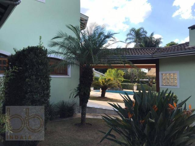 Casa com 4 dormitórios para alugar, 578 m² por R$ 12.000,00/mês - Condomínio Helvetia Coun - Foto 12
