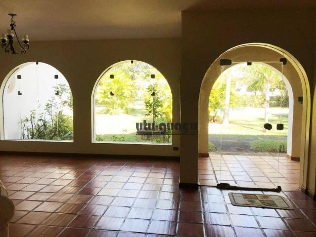 Chácara com 3 dormitórios para alugar, 5000 m² por R$ 7.000,00/mês - Condomínio Vila Suévi - Foto 15