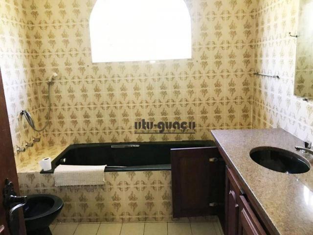 Chácara com 3 dormitórios para alugar, 5000 m² por R$ 7.000,00/mês - Condomínio Vila Suévi - Foto 18