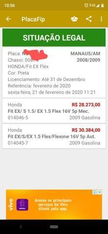 Honda New Fit automático EX - Foto 7