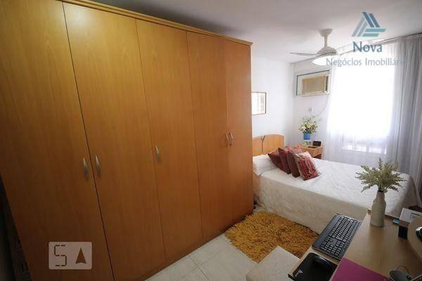 Apartamento com 2 dormitórios para alugar, 84 m² por R$ 3.800/mês - Icaraí - Niterói/RJ - Foto 5