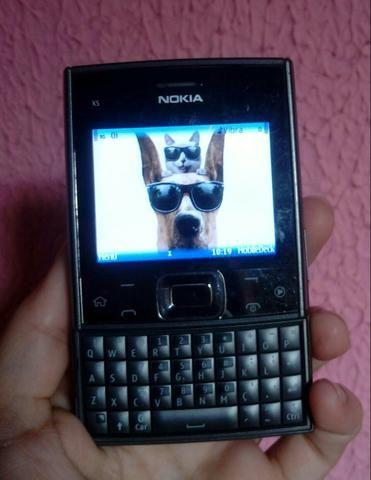 Celular Nokia x5 com wi-fi e redes sociais - Foto 5