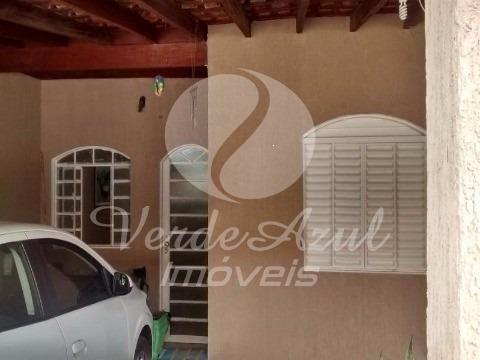 Casa à venda com 3 dormitórios em Jardim nossa senhora de fátima, Hortolândia cod:CA005859