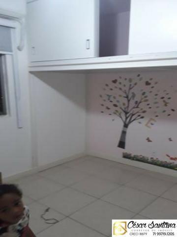 Alugo apartamento 3/4 no Stiep   90 m²  Aluguel R$2.260,00 com taxas - Foto 2