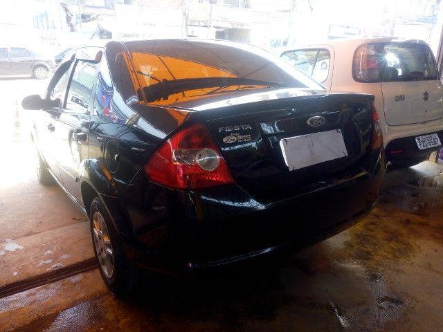 Ford Fiesta sedan compl + gnv ent + 48x 430,00 Fixas 1ª parcela por conta da loja - Foto 4
