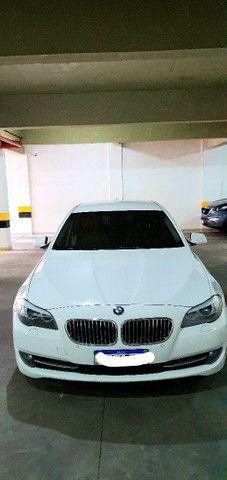 Torro! Ipva Pago!!! BMW 528I 2.0 Turbo - Top de Linha, 2013, interior Caramelo, 245 Cv - Foto 2