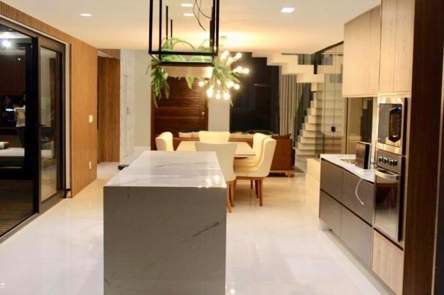 Maravilhosa casa de condomínio com 4 suítes Alphaville Litoral Norte 1 Camaçari BA - Foto 11