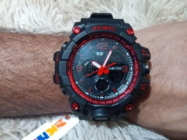 Relógio masculino esportivo digital - Foto 6