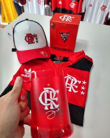 Kit dia dos pais Flamengo retro
