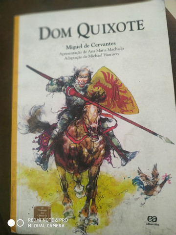 Livro; Dom Quixote Miguel de Cervantes