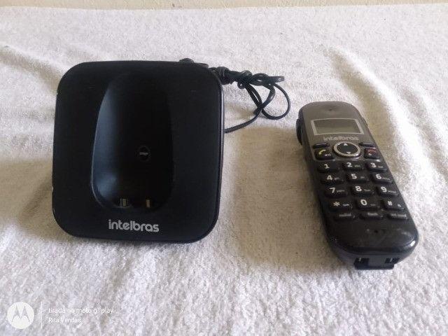 Telefone Sem Fio Intelbras Com Viva Voz E Id Ts5120 - Foto 4