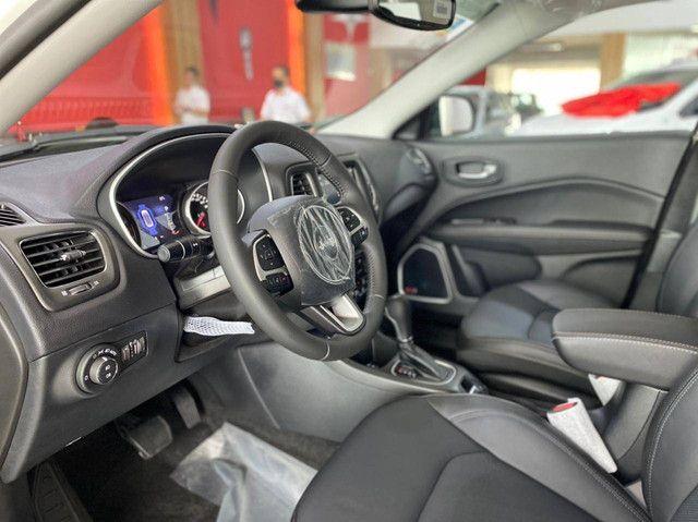 COMPASS 2021/2021 2.0 16V FLEX LONGITUDE AUTOMÁTICO - Foto 7