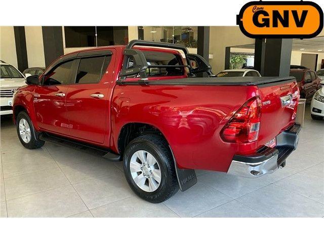 Toyota Hilux 2.7 Srv 4x2 C.dupla Flex+Gnv  Automático 2017!!! - Foto 5
