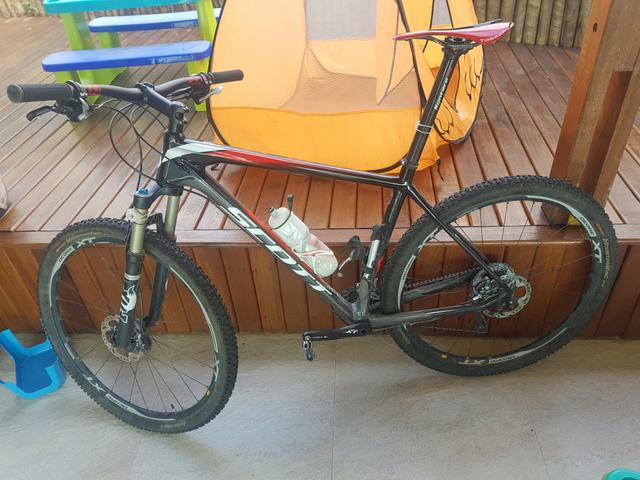 Bike scott Scale 910 carbono 29er Grupo XT tam XL