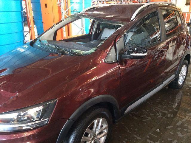 Peças usadas VW Novo Crossfox 2015 2015 1.6 16v flex 120cv câmbio manual - Foto 3