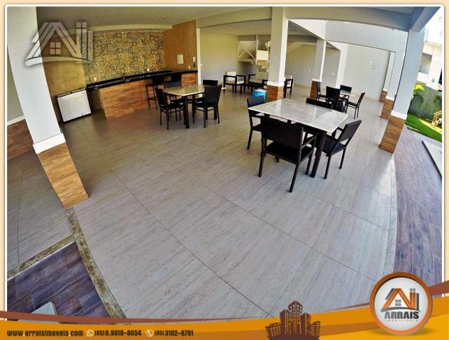 Vendo casa duplex em condomínio c/ 3 suítes no Eusébio - Foto 4