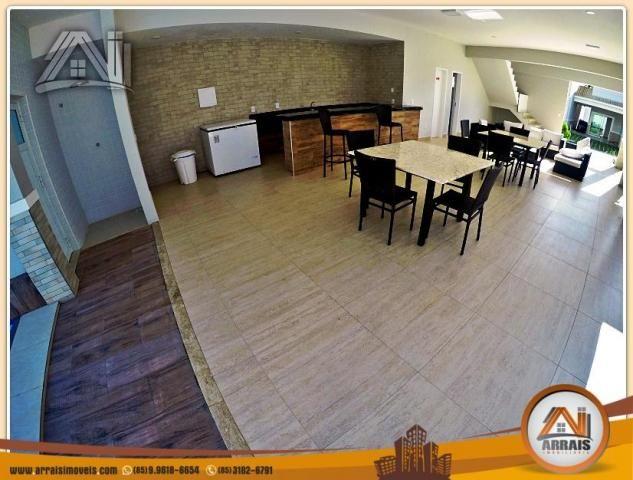 Vendo casa Duplex em Condomínio c/ 3 suites no Eusébio - Foto 3