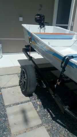 Barco passeio/pesca - Foto 7