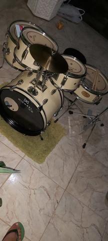 Bateria Michael Acústica Infantil - Foto 3