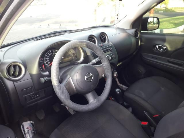Nissan March 1.6 Sv Flex 2013 - Completissímo - Foto 9