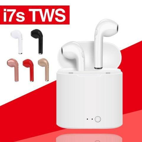 Fone De Ouvido I7s Tws Para Iphone E Android Sem Fio Bluetooth - Foto 4