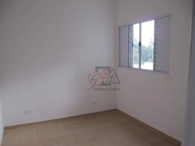 Casa nova 2 dormitorios, 1 suite, 2 vagas, piscina, em condominio Km 44 da Raposo. - Foto 8
