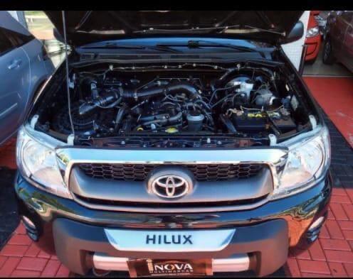 Hilux 2008 manual gasolina, impecável !!!!! - Foto 3